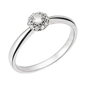 "<b><font color=""b400b0"" >[第一部分部分情感]</font></b> <br> 14k / 18k Myster Part 1钻石戒指"
