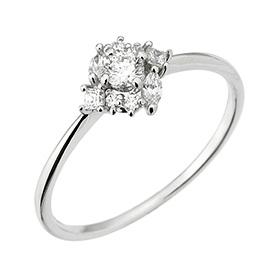 "<b><font color=""b400b0"" >[1个单元现代情感;</font></b> <br> 14K / 18K kodelriah钻石戒指"