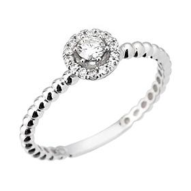 "<b><font color=""b400b0"" >[1个单元现代情感;</font></b> <br> 14K / 18K瑞香钻石戒指[11萨沃伊霍曼当日出货]"