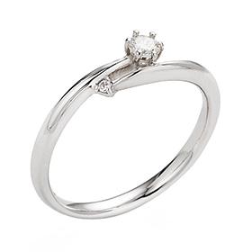 "<b><font color=""b400b0"" >[第一部分情绪]</font></b> <br> 14K / 18K Nostelgia第1部分钻石戒指"