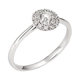 "<b><font color=""b400b0"" >[第一部分情绪]</font></b> <br> 14K / 18K Elgar第1部分钻石戒指"