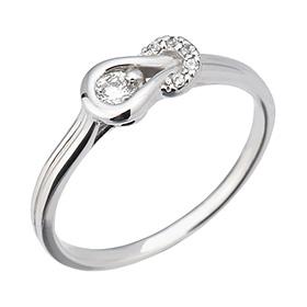 "<b><font color=""b400b0"" >[第1个部分当代情感]</font></b> <br> 14K / 18K节奏和蓝色部分的钻石戒指[11萨沃伊霍曼当日出货]"