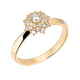 "<b><font color=""b400b0"" >[第一部分情绪]</font></b> <br> 14K / 18K Berus Part 1钻石戒指"