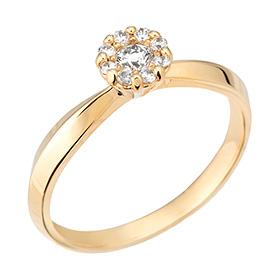 """<b><font color=""""b400b0"""" >[第一部分情绪]</font></b> <br> 14K / 18K Suit Dream 1件钻石戒指"""