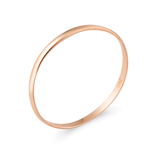 14K / 18K0.375克简单环戒指[当日出货]