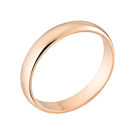 14K / 18K1.875克简单环戒指