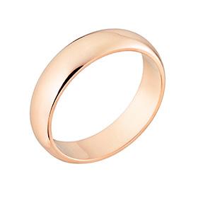 14K / 18K3.75克简单环戒指