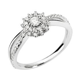14K18K伊比利亚第1部分钻石戒指