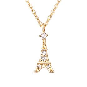 18K巴黎项链