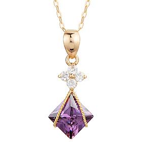 14K / 18K紫水晶敏感项链