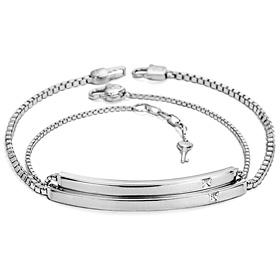 承诺是钻石情侣手链[男,女一倍的价格;