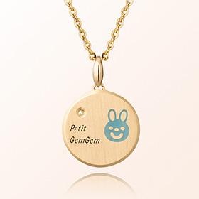 出生于2011年防止野兔米亚金项链