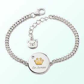 投币王冠米娅防止银手镯