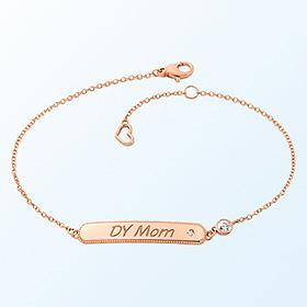 [妈妈]简洁关键点金手链