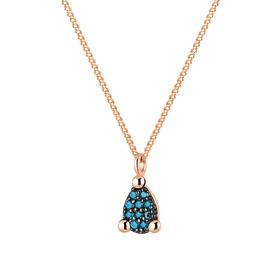 14K / 18K赠送层级蓝钻石项链[当日出货]