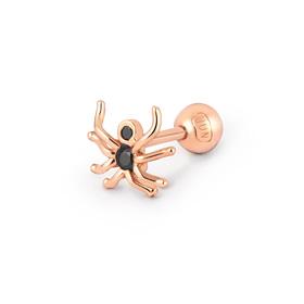 蜘蛛耳环14K