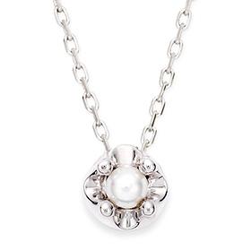 六月诞生石3毫米天然珍珠头饰项链