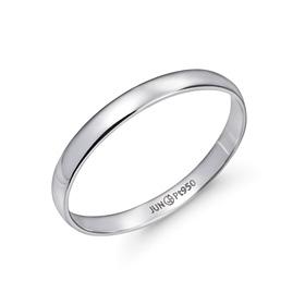 铂[的Pt950] 2g的简洁baneng铂环