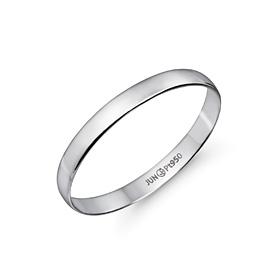 铂[的Pt950] 1g的简洁baneng铂环