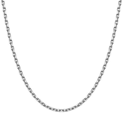 铂[的的Pt950] 3g的简洁项链链[当日出货]