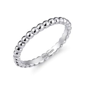 铂[的的Pt950]泡泡翅膀铂金戒指