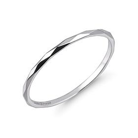 白金[na Pt950]粗糙的铂金戒指