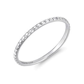 铂金[na Pt950]小杆铂金戒指