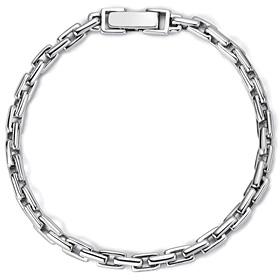 铂金[理想Pt950]简单价格(大)白金手链[男士推荐]