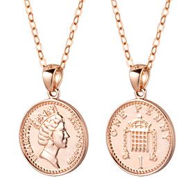 14K / 18K Lucky Queen Coin奖牌链接